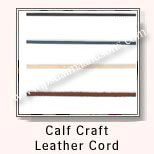 Calf Craft Leather Cords