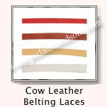 Cow Leather Belting Cords