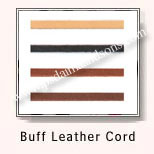Flat Braided Leather Cords