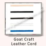 Goat Craft Leather Cords