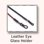 Leather Eye Glass Holder