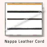 Nappa Leather Cords