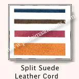 Split Suede Leather Cords