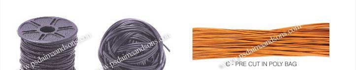 Leather Cords Packaging